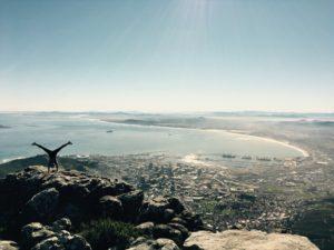 Ein Blick über Kapstadt, Südarfika.